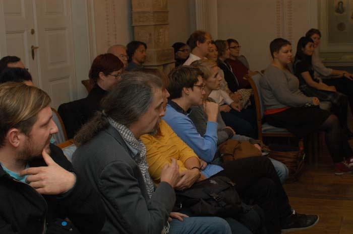 Das Publikum im Leipziger Schumann-Haus.