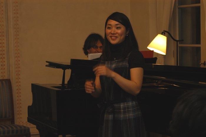 Chisa Tanigaki singt Clara Schumann.