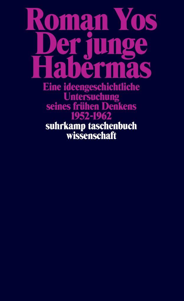 Buchcover Der junge Habermas